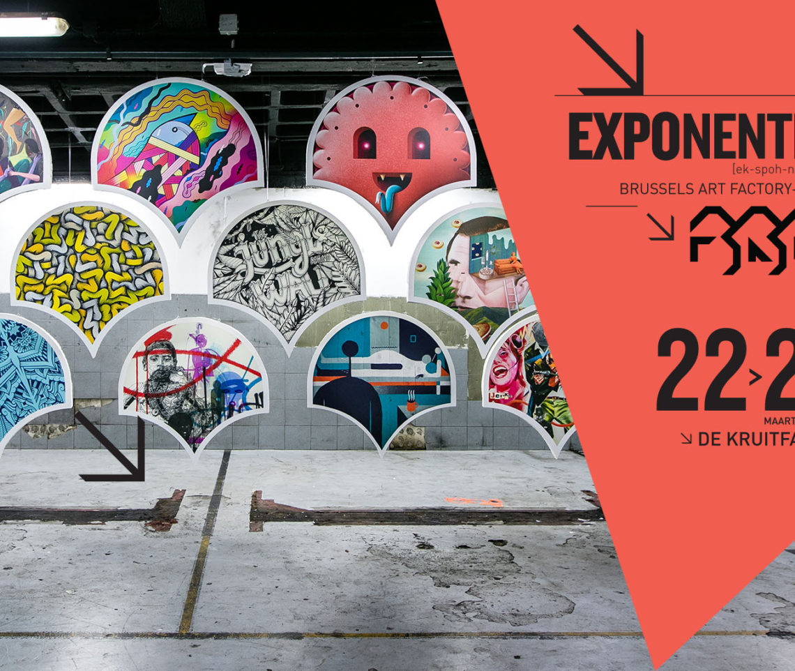 Exponential – Exposition au Kruitfabriek
