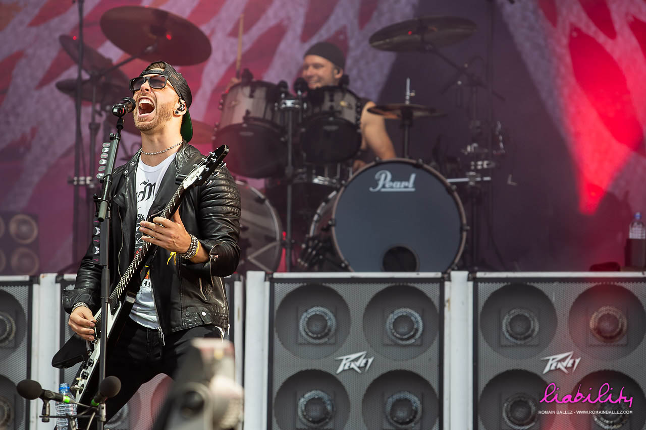 Bullet for my Valentine - Hellfest 2018