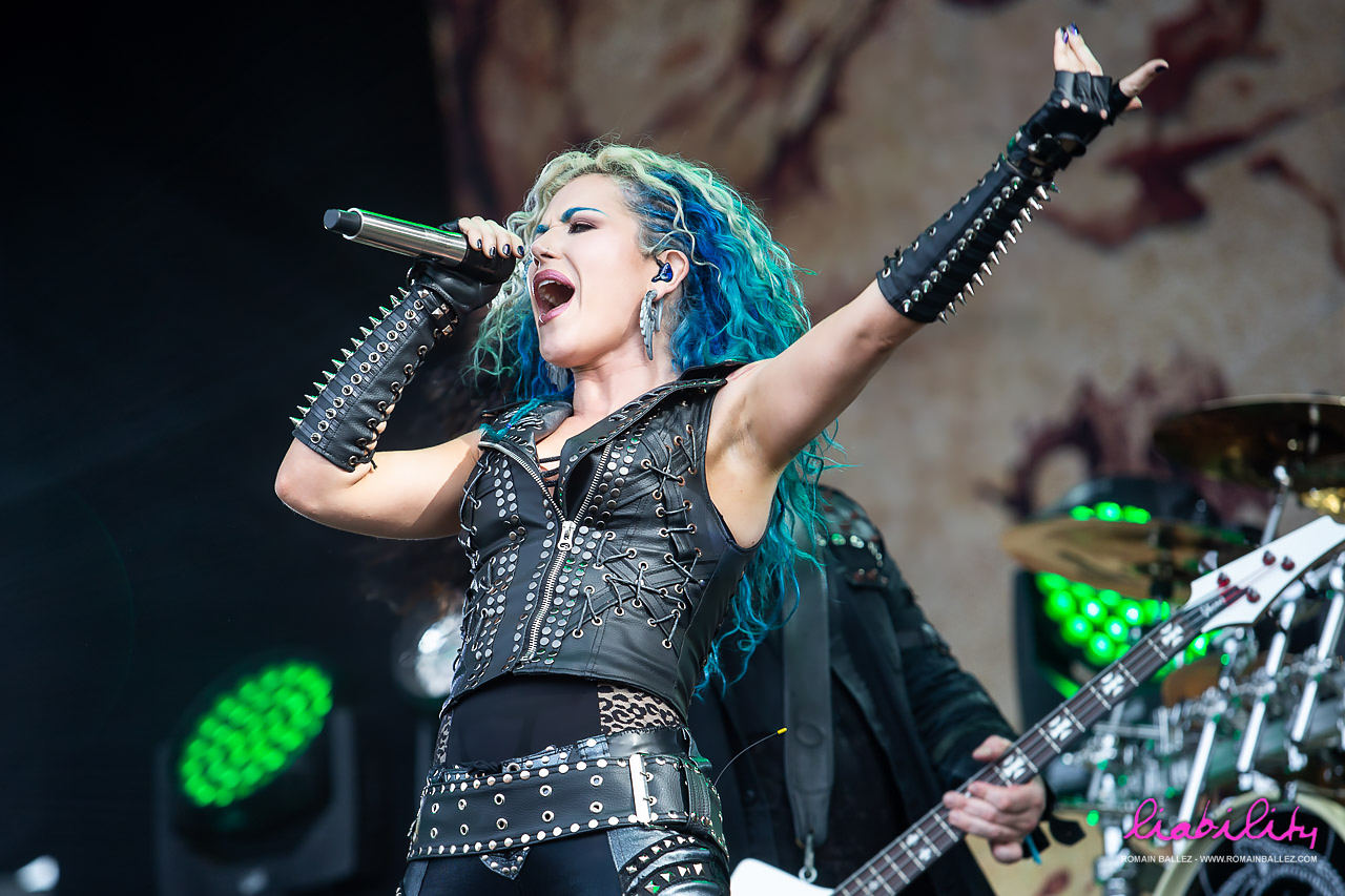 Arch Enemy - Hellfest 2018